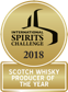 ISC Scotch Whisky produce of the year 2018